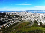 On The Run: The view from Twin Peaks. I like to run up here from my house, which is about two miles straight down!